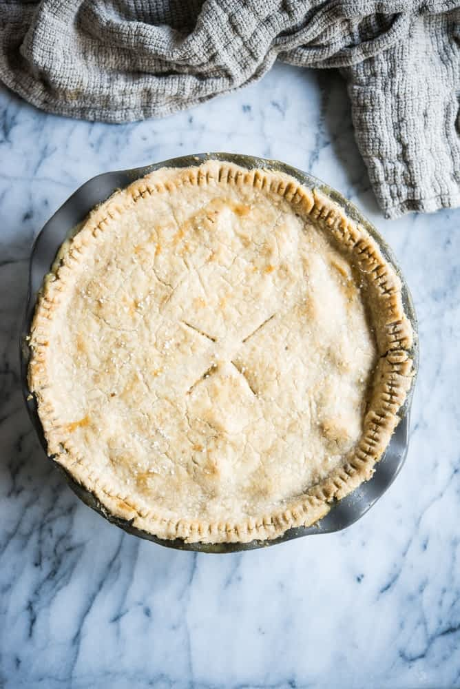 Gluten-Free Turkey Pot Pie - thanksgiving leftover recipes