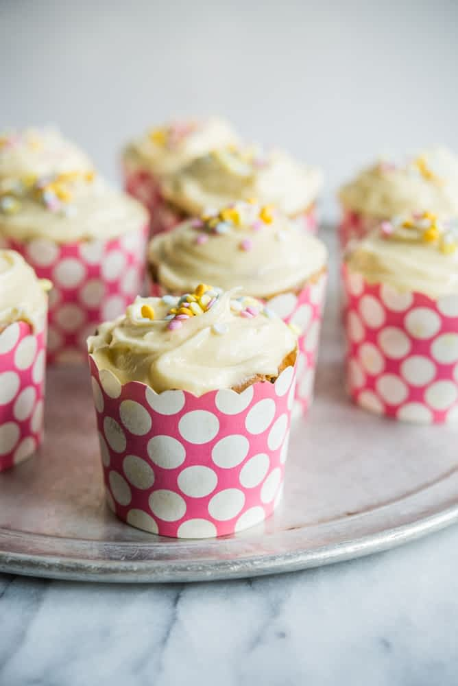 Gluten Free Funfetti Cupcakes Fed and Fit-3