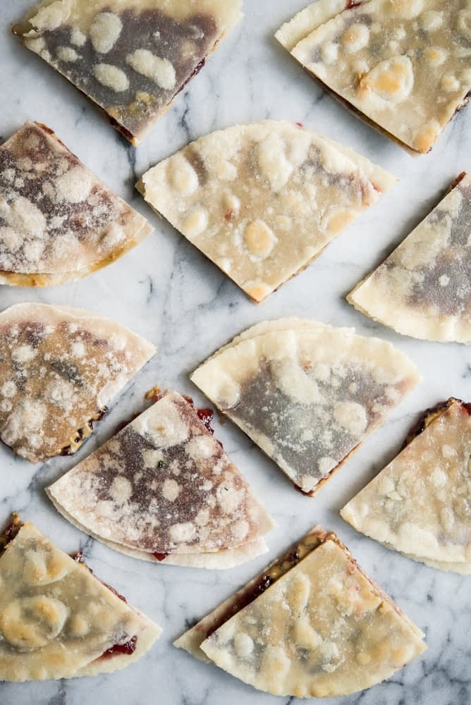 Peanut Butter and Jelly Quesadillas