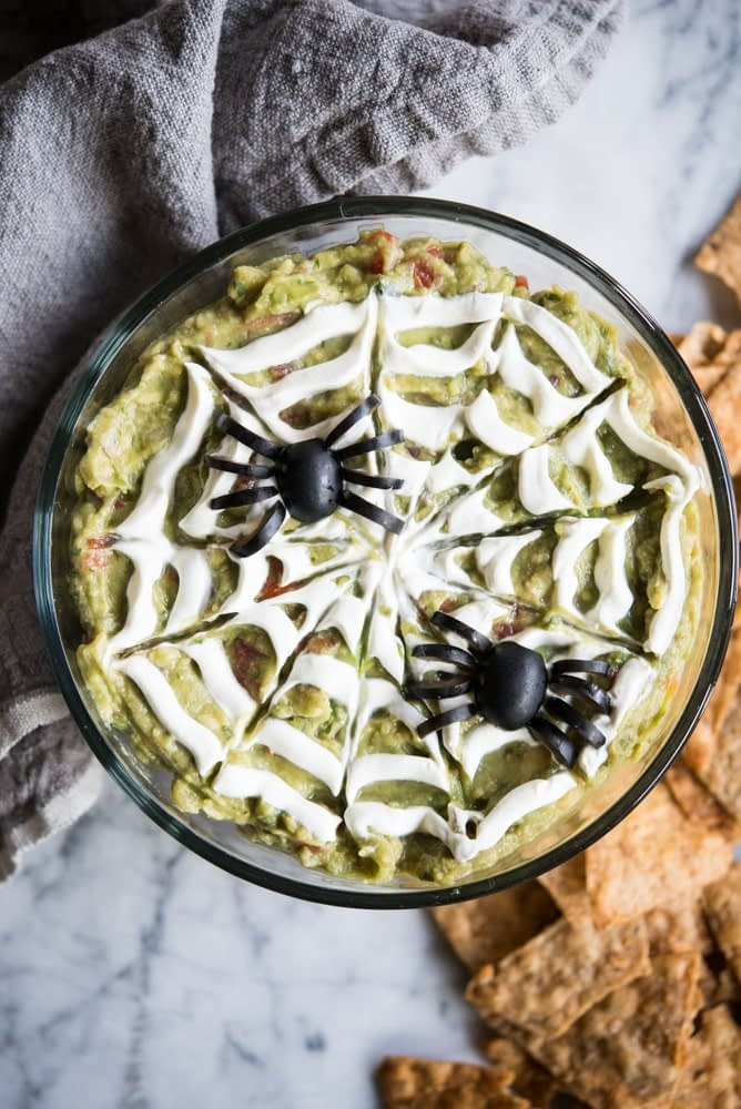Spooky 5-Layer Dip
