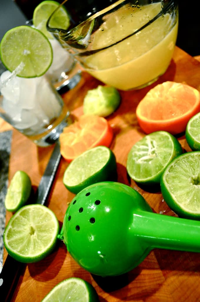 limes and oranges