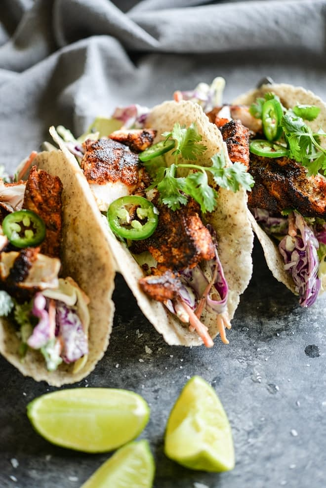 Blackened Fish Tacos Fed and Fit-5